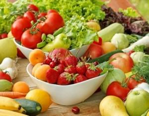 Mai senza frutta e verdura