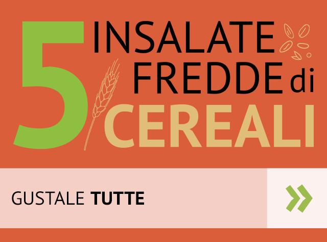 Scopri 5 insalate fredde di cereali