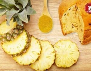 Lingotto di ananas e panettone...