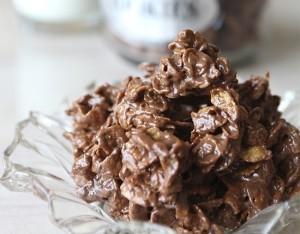 Croccantini al cioccolato e cereali