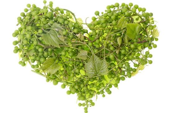 I benefici dell'uva per il cuore