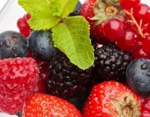 Granita ai frutti di bosco
