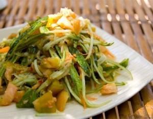 Insalata di melone e verdure