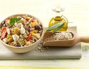 10 insalate fredde di pasta, riso, farro e orzo