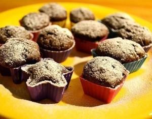 Muffin sani al cacao per Halloween