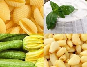 Pasta fredda con zucchine e ricotta