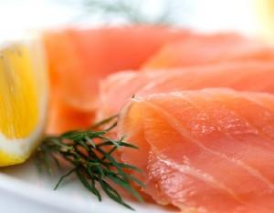 Carpaccio di salmone marinato