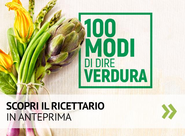 Acquista il ricettario 100 modi di dire verdura