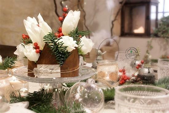 La tavola di natale casa di vita - La tavola di natale decorazioni ...