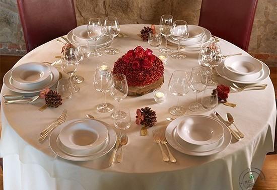 La tavola del natale superlativo casa di vita - Preparazione tavola di natale ...