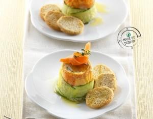 Tortino salato di verdure estive