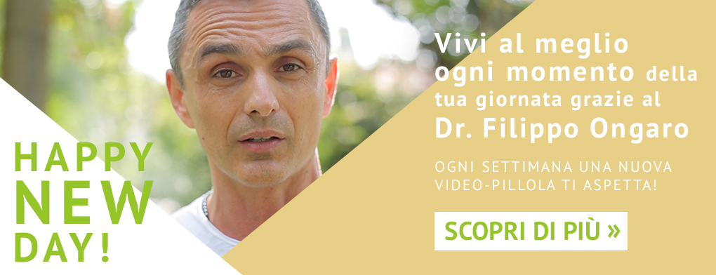 Video Happy New Day! con il Dr. Filippo Ongaro