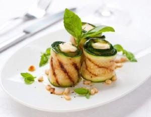 Involtini di zucchine e giuncata