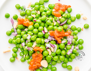 Ricette insalata con piselli