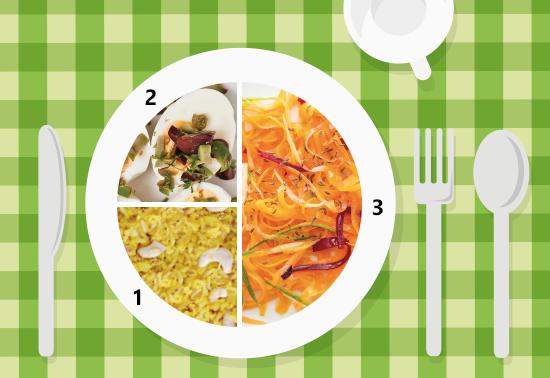 Piatto unico: spaghettini di carote, riso integrale, uova sode