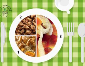 Piatto unico: zucca in saòr, quinoa, vitello con nocciole