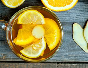 Infuso all'arancia e zenzero