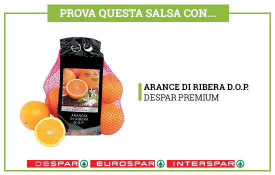 Prova questa salsa con Arance di Ribera Despar Premium