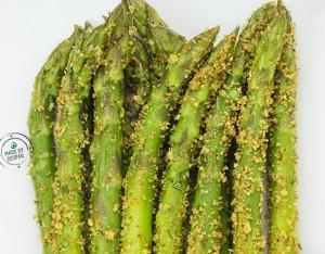 Asparagi croccanti con aromi