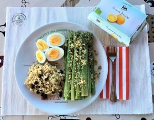 Uova e asparagi: amore senza fine… in un piatto unico