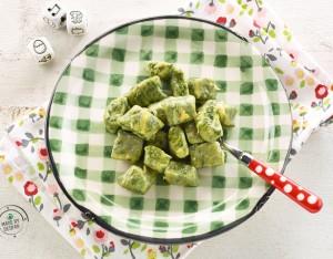 Gnocchetti di patate e spinaci al limone