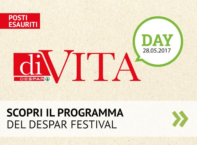 Scopri il programma del Despar Festival