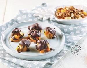 Pepite di frutta secca al cioccolato