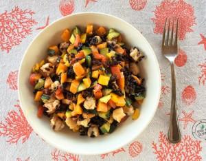In cucina con la Redazione: come preparare l'insalata di riso Venere con gamberi e verdure