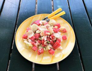 In cucina con la Redazione: come preparare l'insalata di anguria e feta