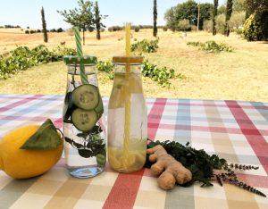 In cucina con la Redazione: come preparare le acque aromatizzate