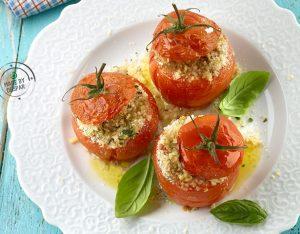 Pomodori ripieni di verdure speziate