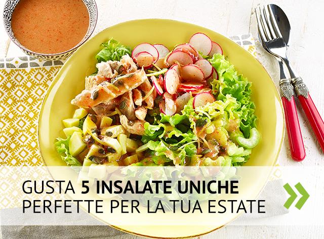 Scopri 5 insalate uniche