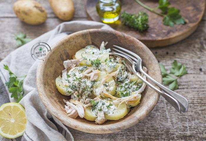 Insalata pollo e patate