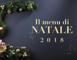 Il menu di Natale 2018