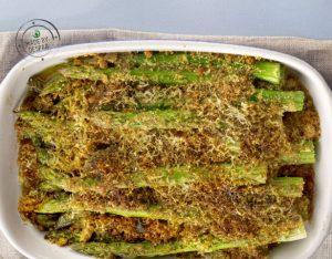 Gratin di asparagi alla paprica