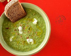 Zuppa fredda di cetrioli