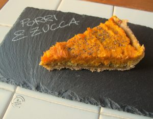 In cucina con la Redazione: come preparare la torta salata di zucca e porri