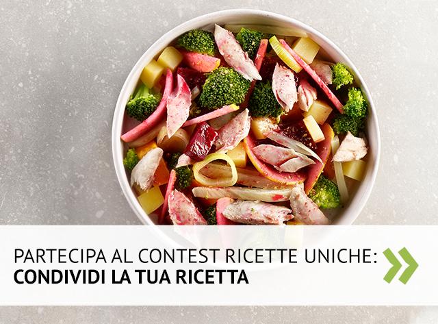 Partecipa al contest Ricette Uniche!