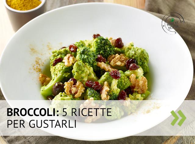 5 ricette per gustare i broccoli
