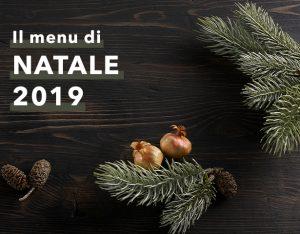Il menu di Natale 2019