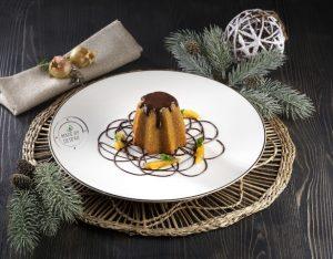 Pandorini di Natale con zucca e cioccolato fondente al profumo d'arancia