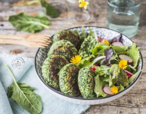 Polpette di spinaci, riso e ricotta