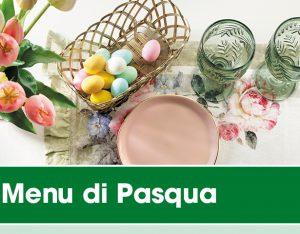 Il menu di Pasqua 2020