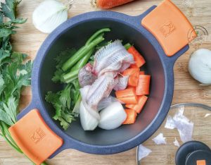 In cucina con la Redazione: come preparare il fumetto di pesce