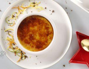 Crema catalana agli agrumi