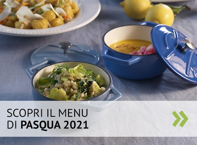 Il menu di Pasqua 2021