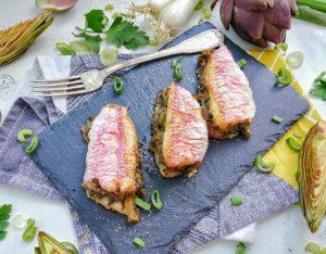 In cucina con la redazione: come preparare i sandwiches di triglia con carciofi e cipollotti
