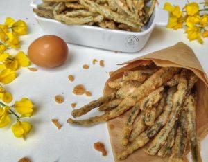 Fagiolini in tempura