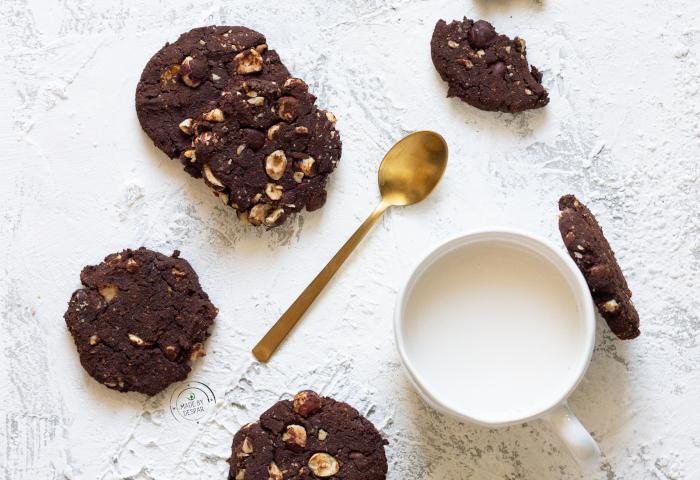 Biscotti di fagioli al cioccolato