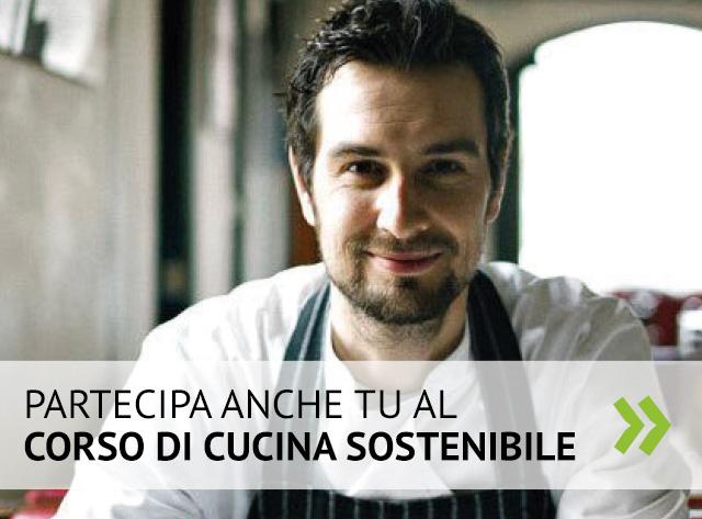 Partecipa al corso di cucina sostenibile